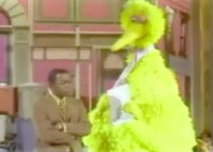 Flip Wilson and Big Bird