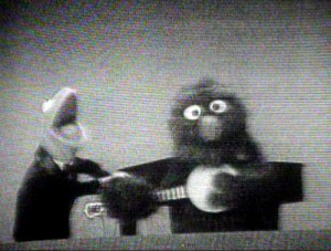 """Kermit and Grover on """"Ed Sullivan"""""""