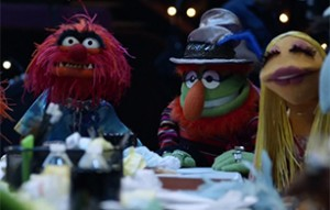 The Electric Mayhem at the production meeting.