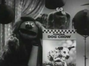 Rowlf directs Baskerville.
