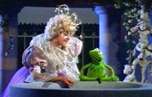 The Fairy Godmother and Kermit