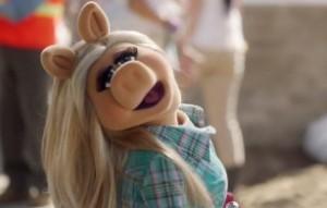 Piggy strikes a pose.