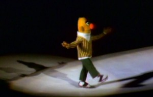 Bert on ice.