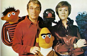 Julie Andrews and Perry Como visit Sesame Street.