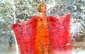 Florence Henderson in an unfortunate muumuu.