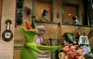 Kermit loses his temper.