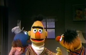 """""""Ernie's 'Guess What I Am' Game"""""""