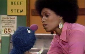 "Grover and Vi on ""The Electric Company"""