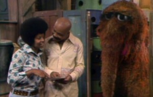 Susan and Gordon don't see Snuffy.
